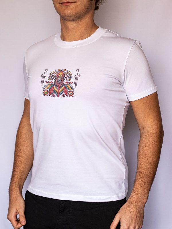 Бяла тениска Кукер