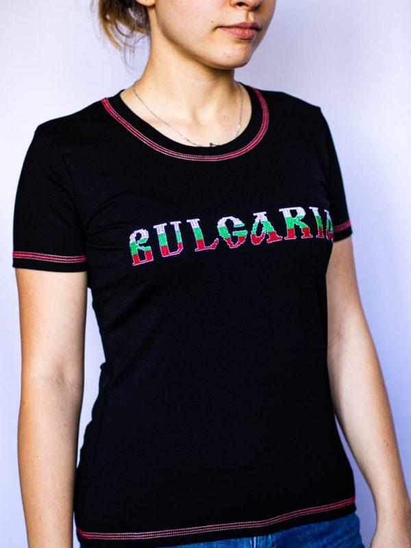 Черна тениска България