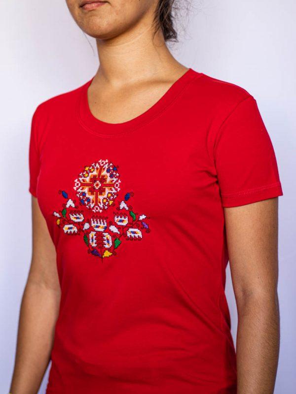 Червена тениска Житена питка